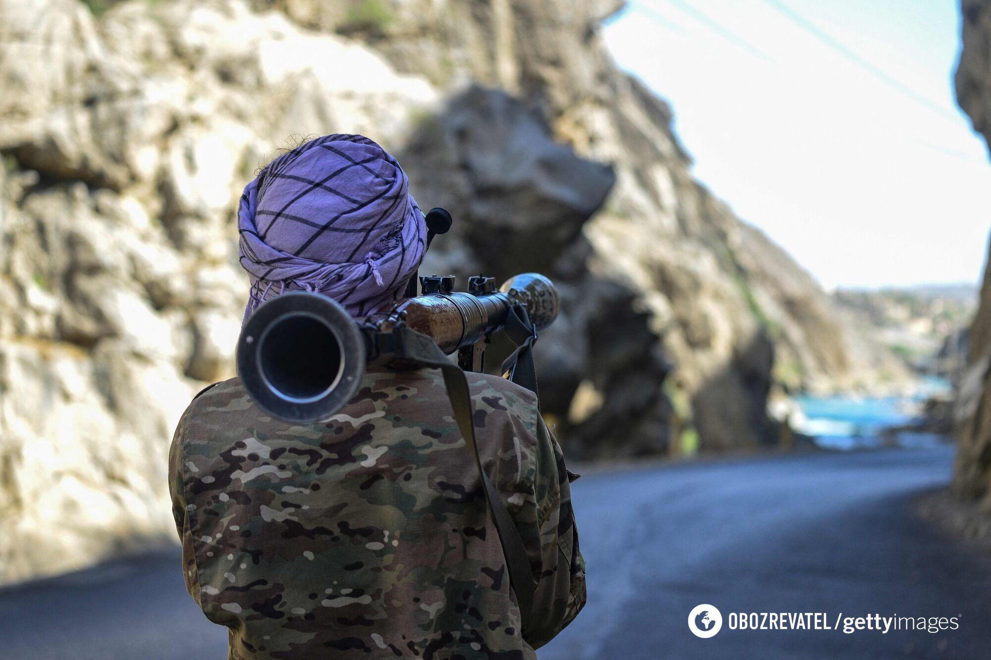 "Террорист ""Талибана"""