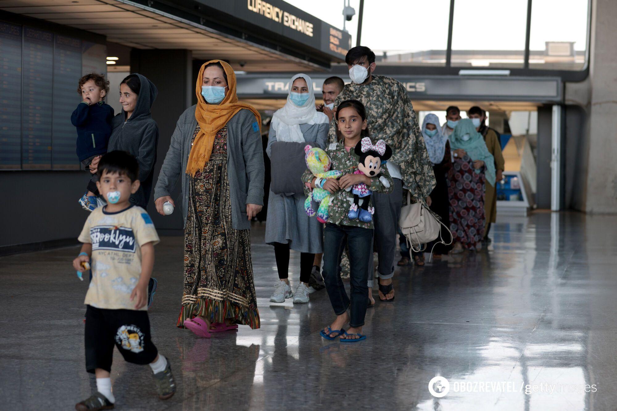 Люди, покинувшие Афганистан