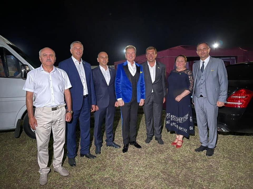 Малинин выступил в Болграде.