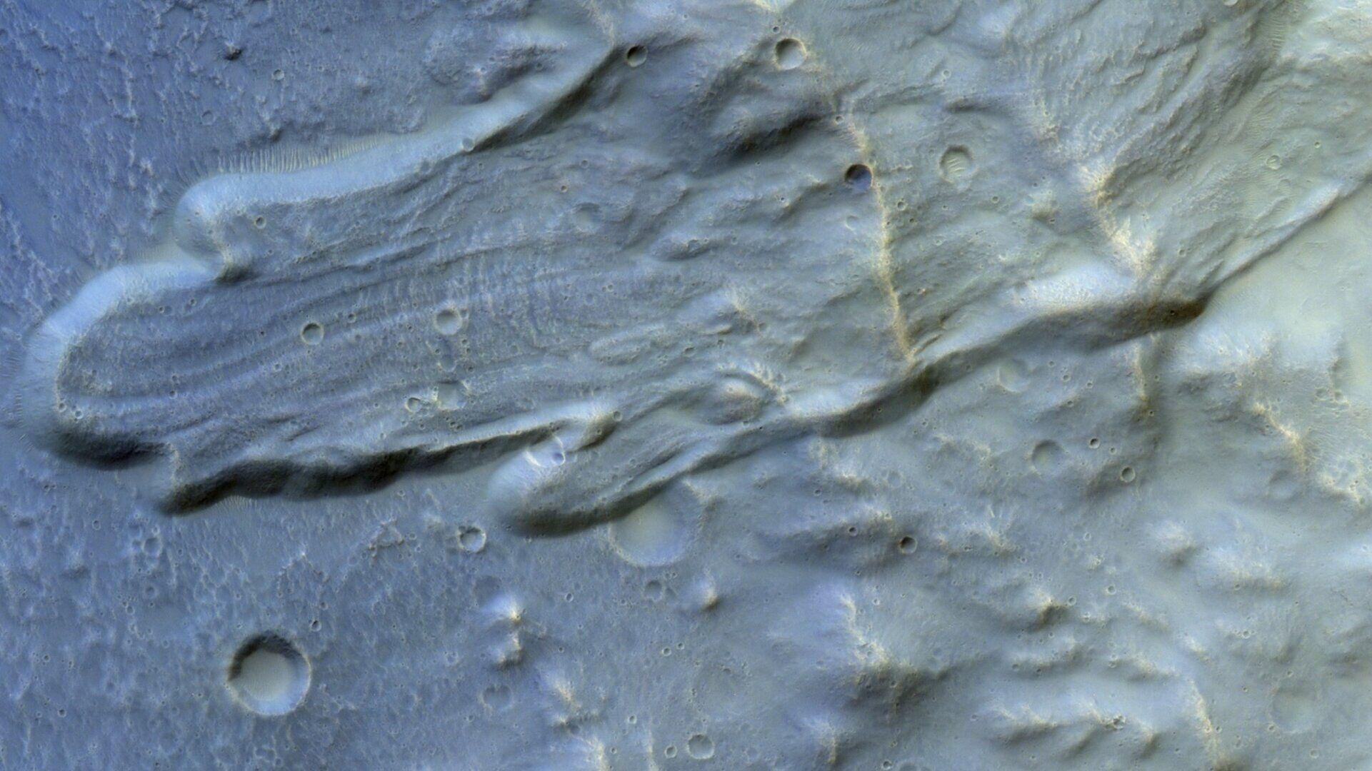 Оползень на Марсе
