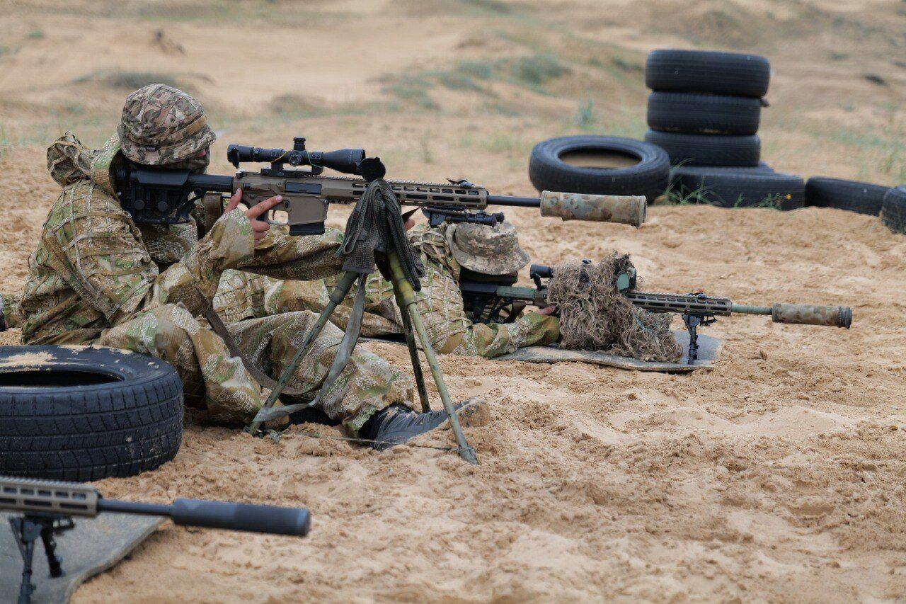 Тренування снайперів на Херсонщині