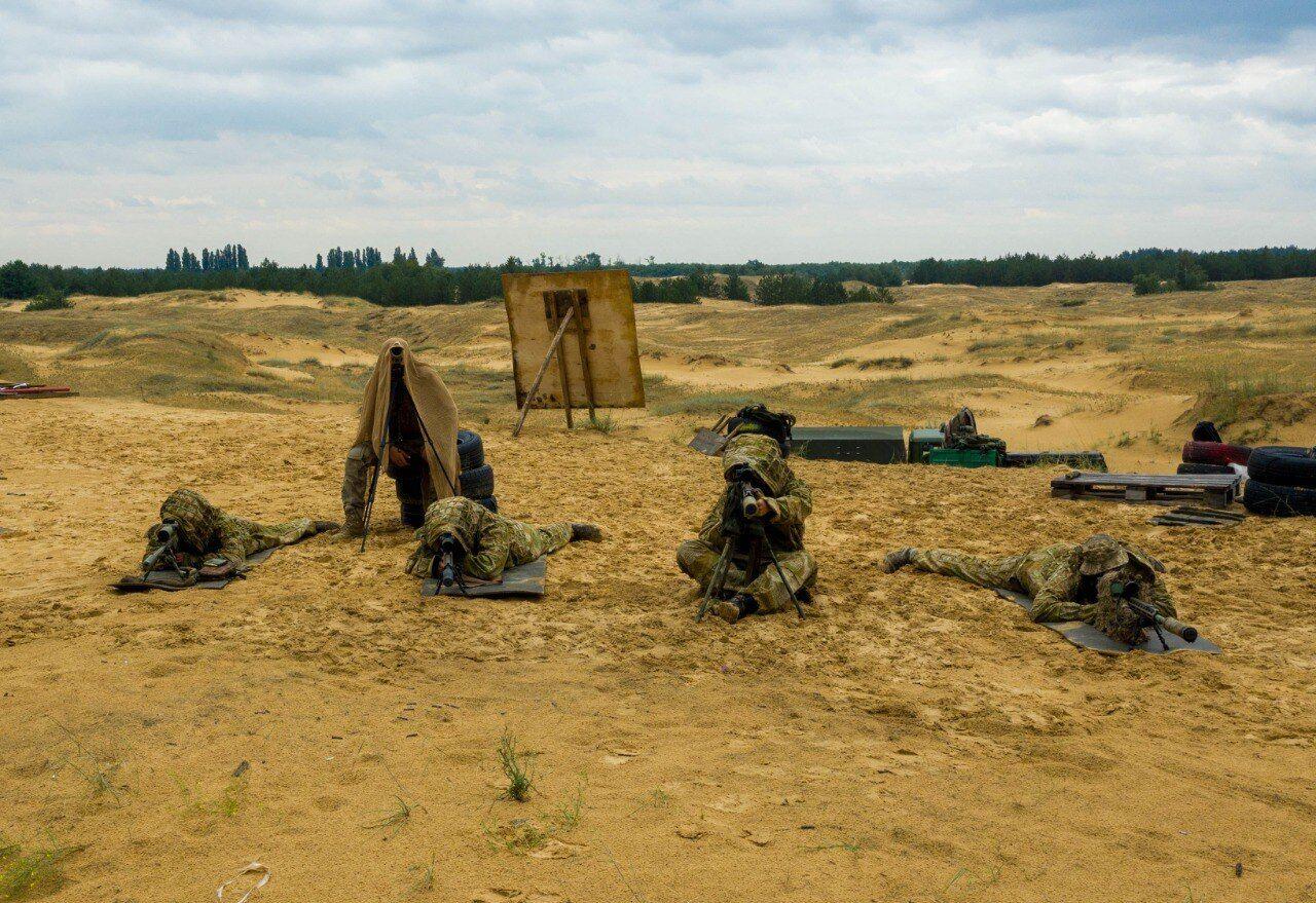 Підготовка снайперів ЗСУ