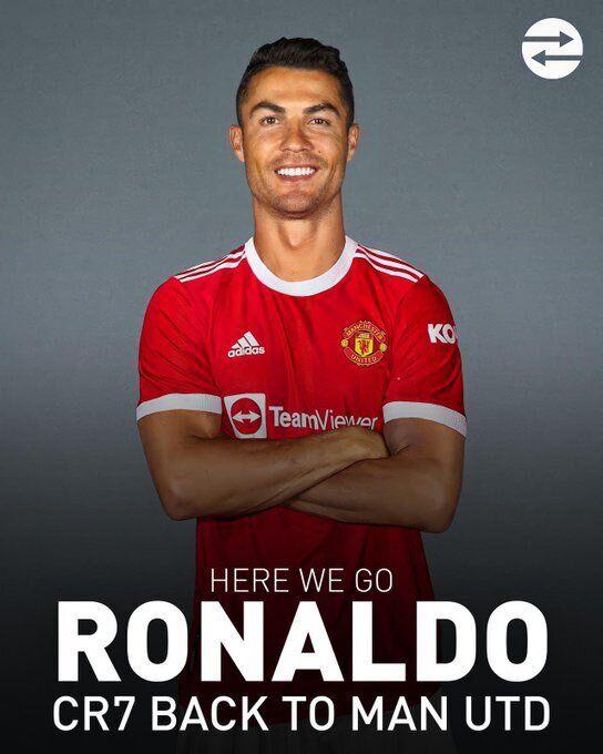 Роналду вернулся в МЮ.