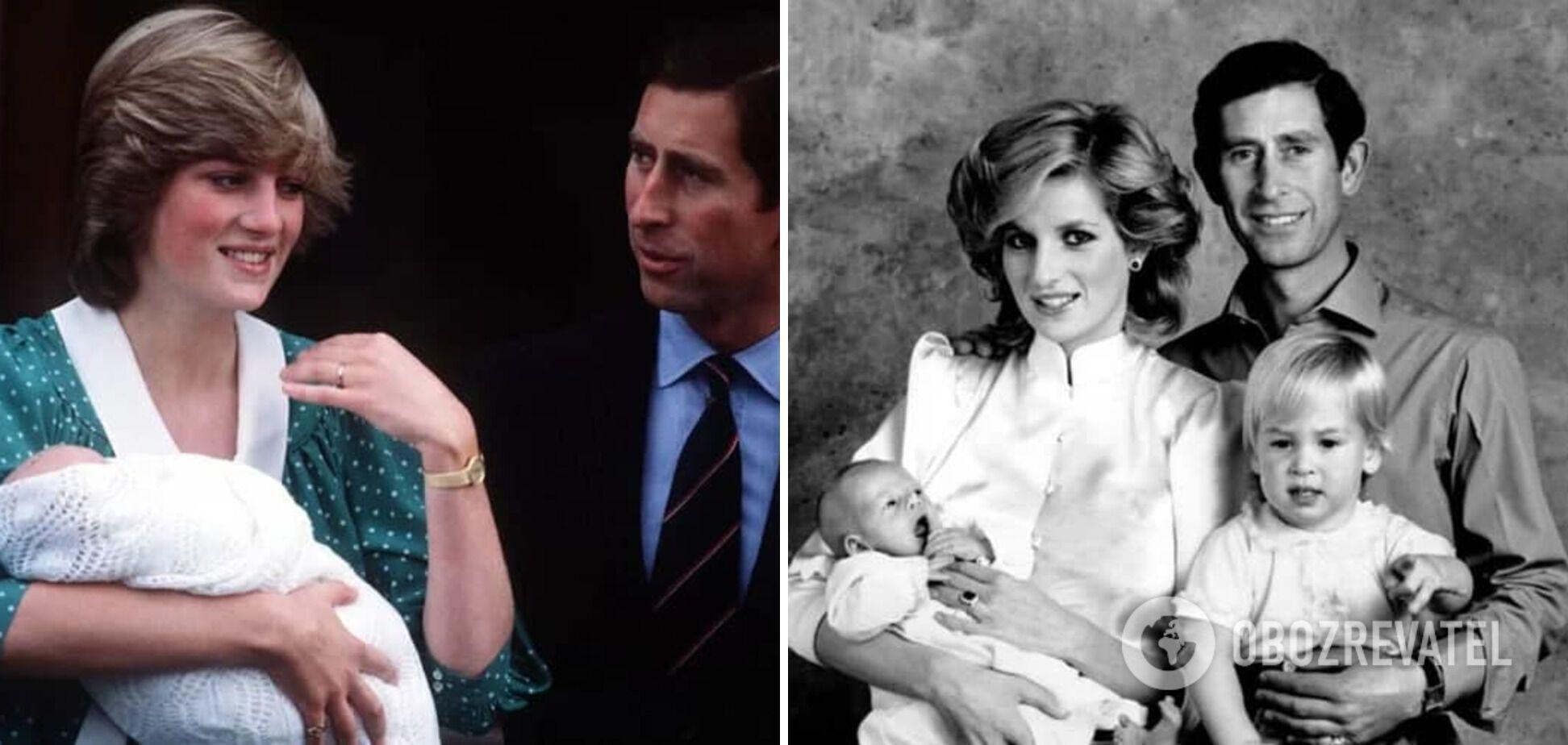 Принц Чарльз и принцесса Диана стали родителями.