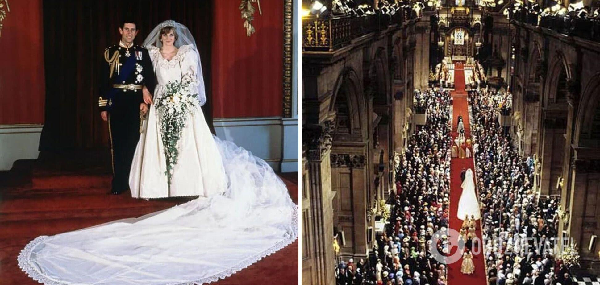 Свадьба принца Чарльза и леди Ди.