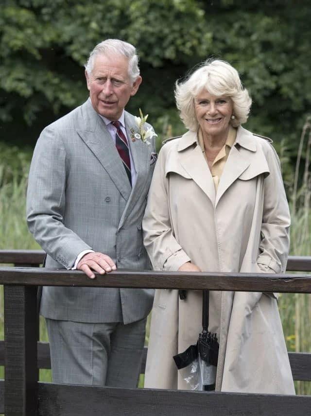 Принц Чарльз с Камиллой Паркер-Боулз.