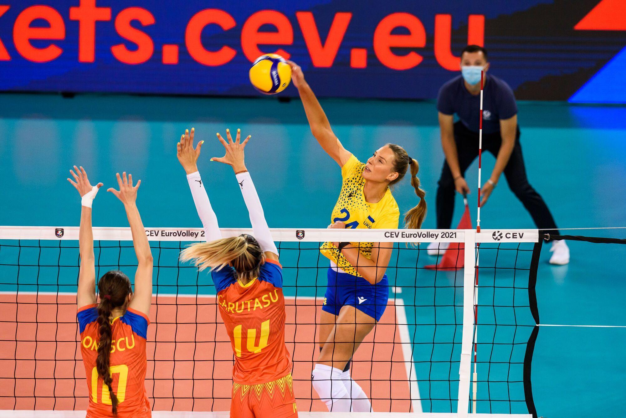 Волейболистка Олеся Рыхлюк сборная Украины