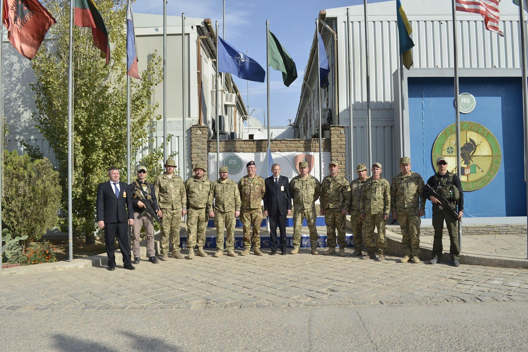 Украинский военный контингент