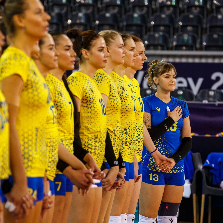 Волейбол сборная Украины гимн