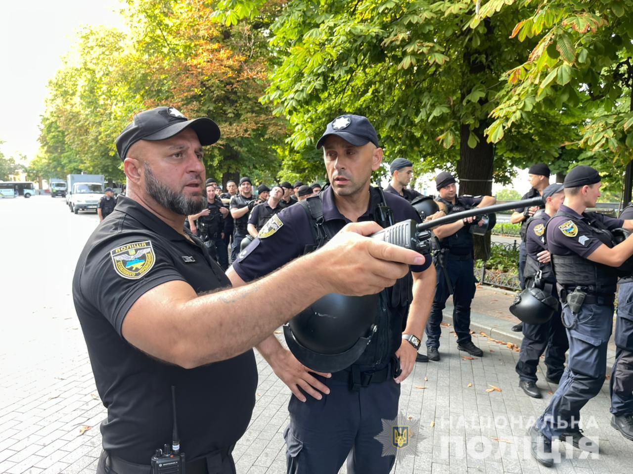 Поліцейські передбачили можливі зміни обстановки в місті