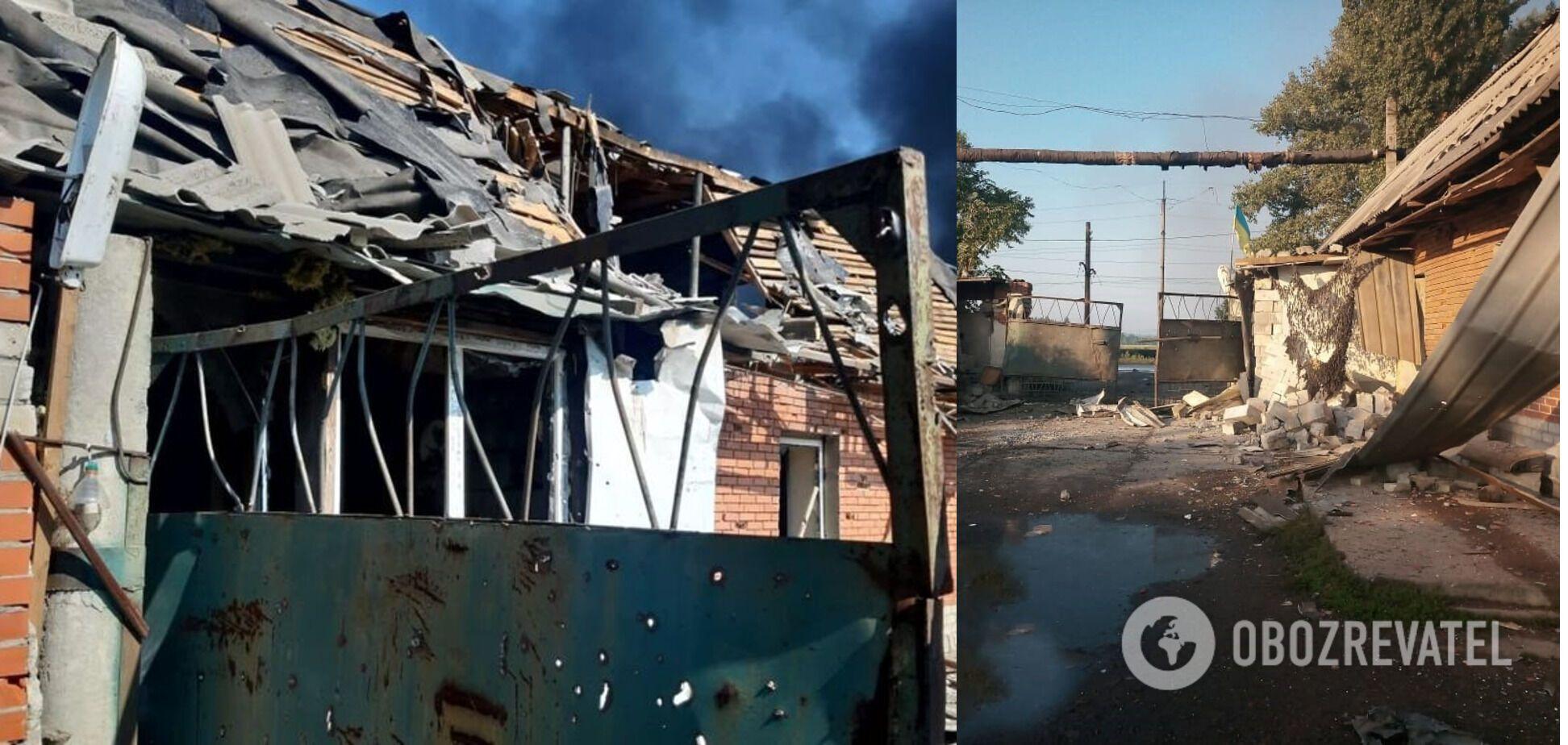 Пошкоджені об'єкти цивільної інфраструктури Авдіївки