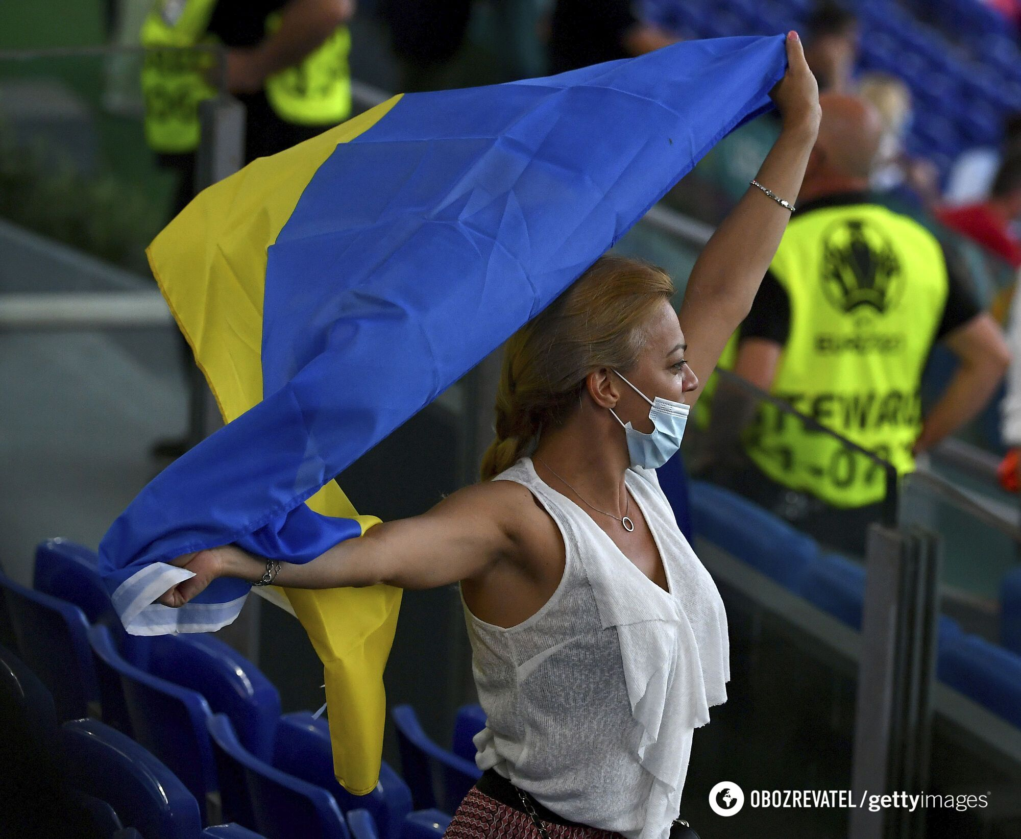 Сборная Украины не увидит своих болельщиков