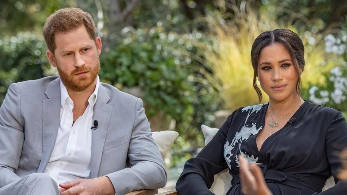 Принц Гарри и Меган Маркл дали интервью Опре Уинфри.