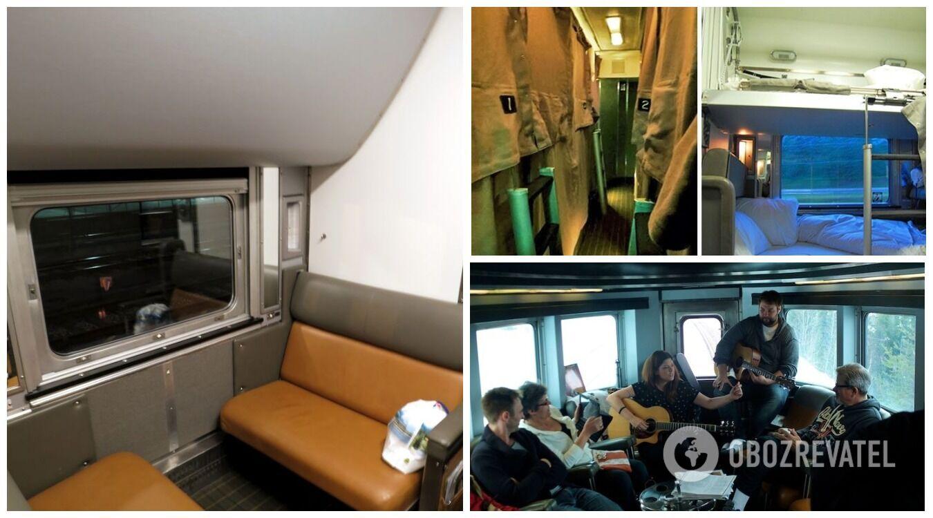 Спальні вагони в Канаді є тільки в поїздах далекого прямування