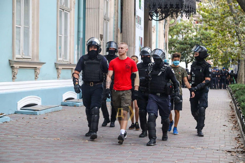 Задержание радикалов