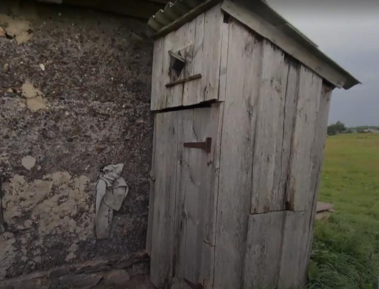 Елена родила в туалете во дворе дома сестры