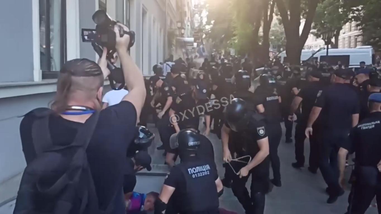 Задержания в Одессе