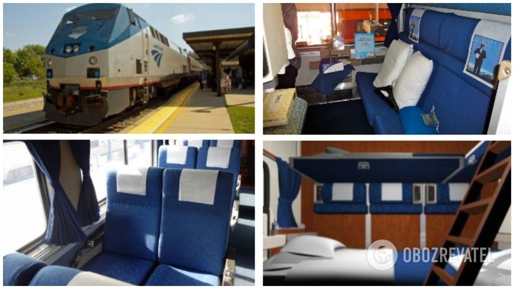 Квиток у спальний вагон в Сполучених Штатах коштує дорожче за квиток на літак