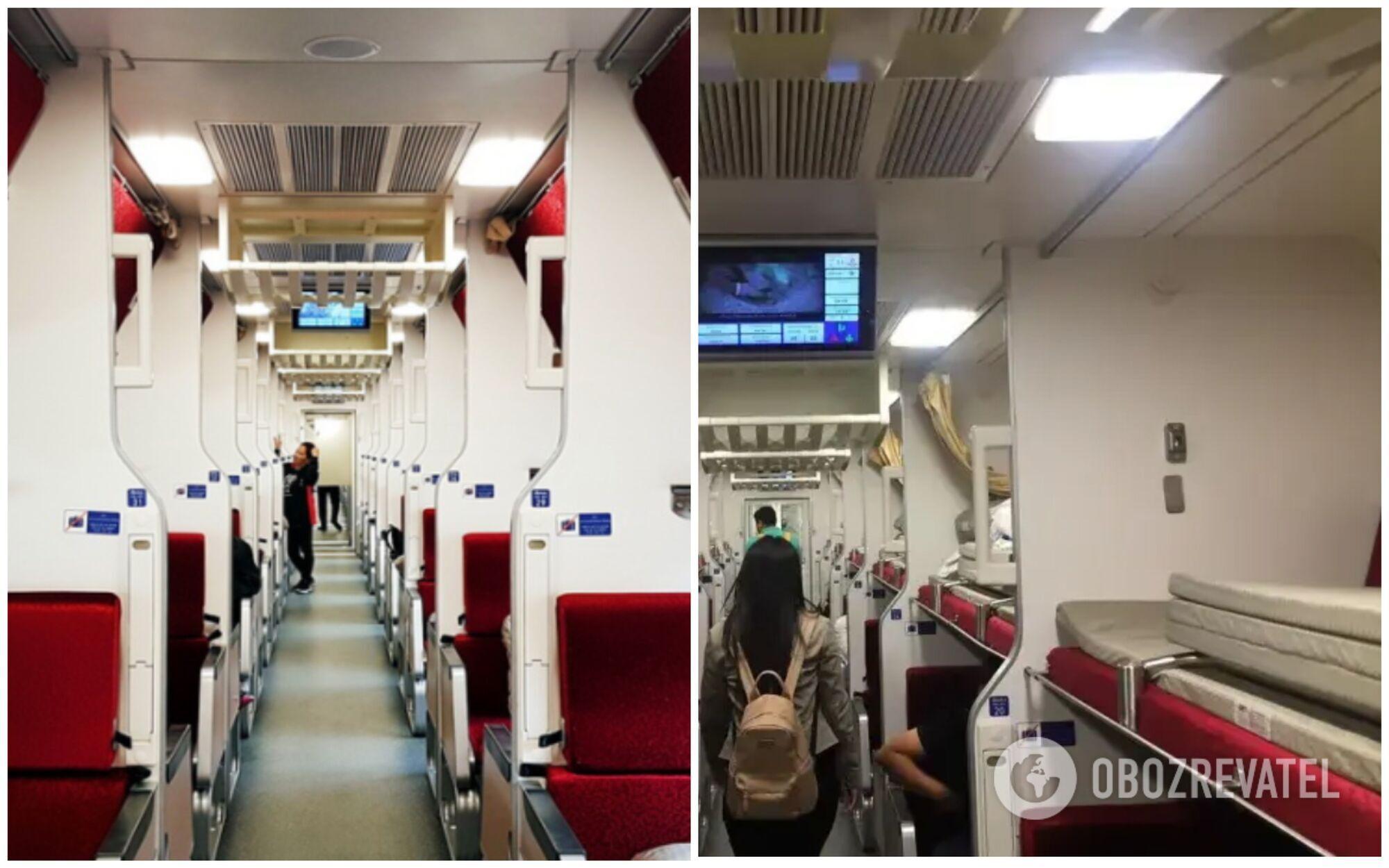 Плацкартні вагони в Таїланді належать до другого класу комфорту