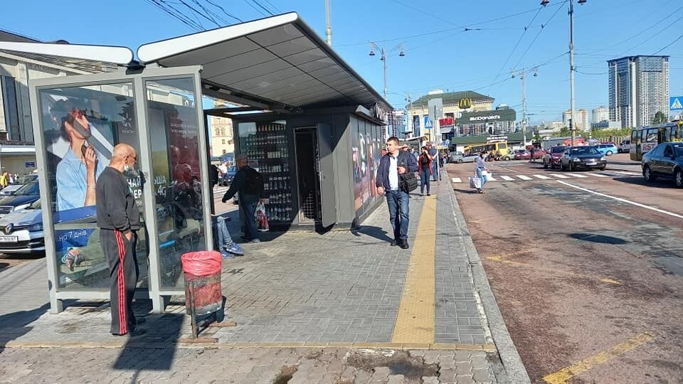 На столичном вокзале неудобно покупать билеты на троллейбус.