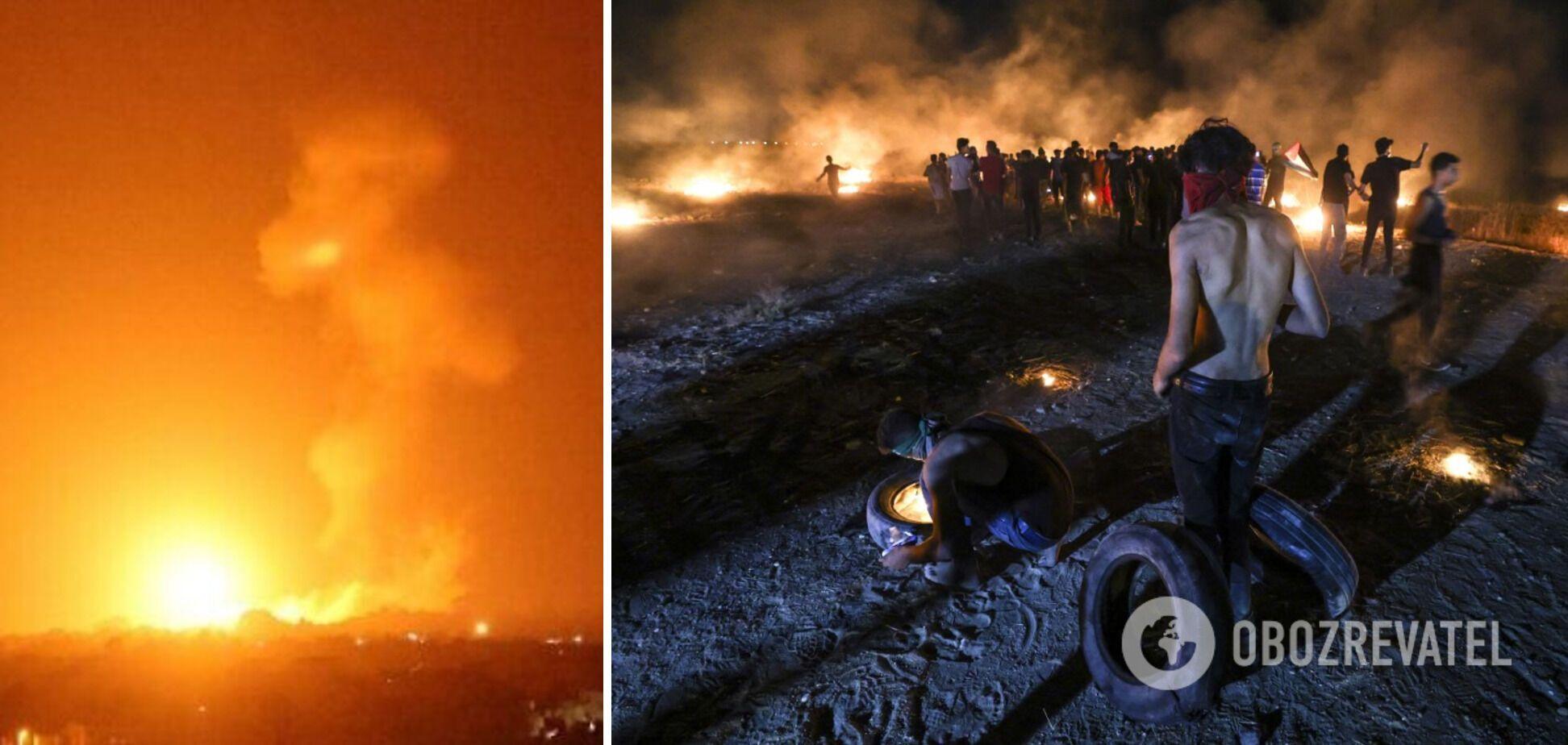 Беспорядки на границе Израиля с Сектором Газа