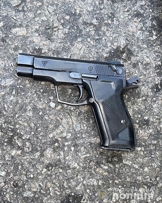 Пистолеты отправили на экспертизу.