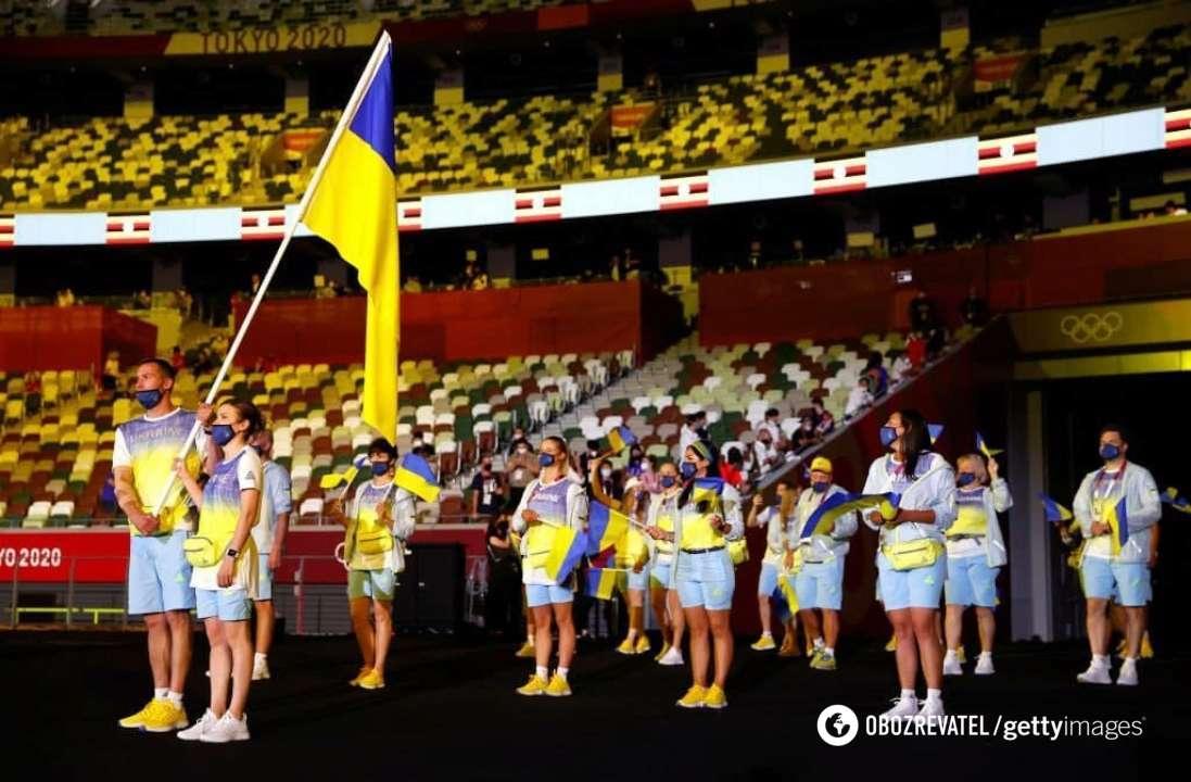 Олимпийская сборная Украины.