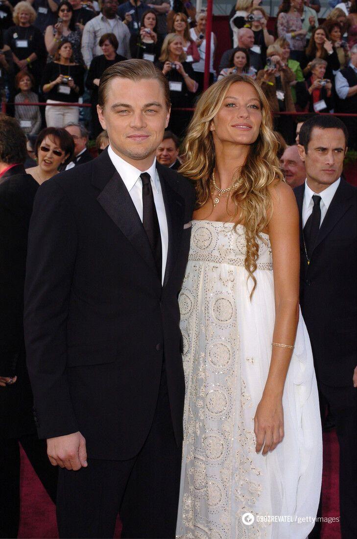 У 2000 році Жизель почала зустрічатися з Леонардо Ді Капріо