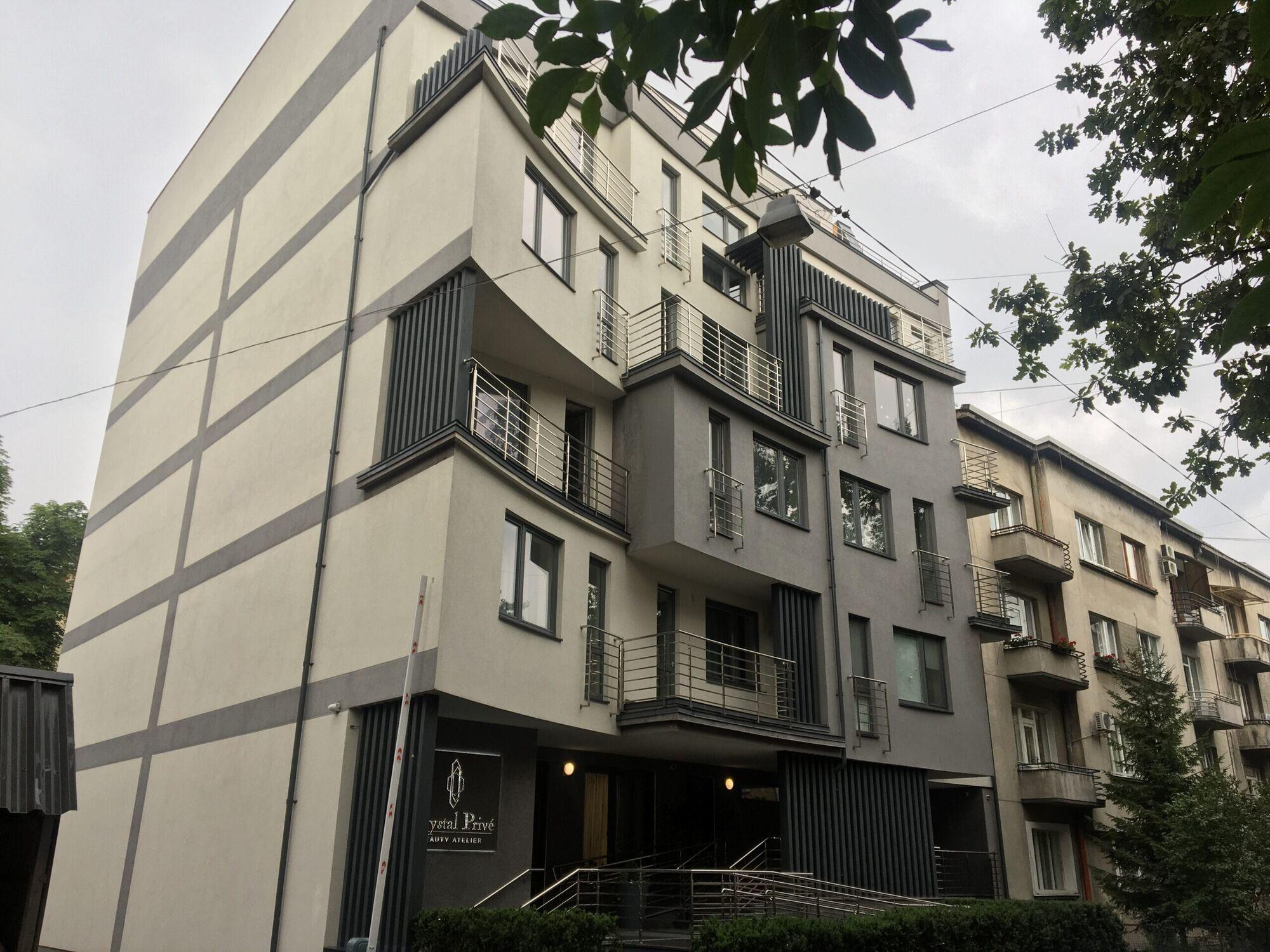 Новостройка в Франковском районе Львова, где находится квартира Софии Козак.