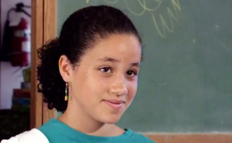 Меган Маркл у шкільні роки