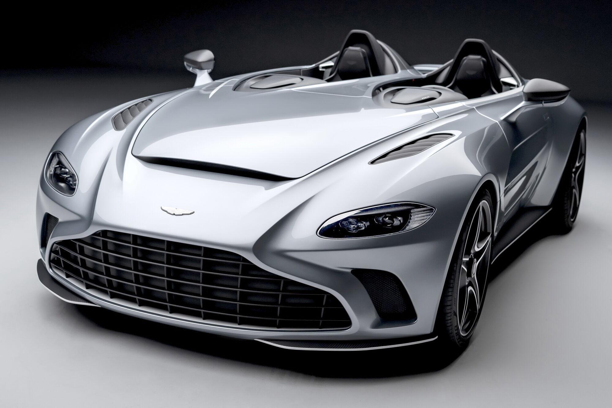 Aston Martin V12 Speedster от фирменного подразделения Q