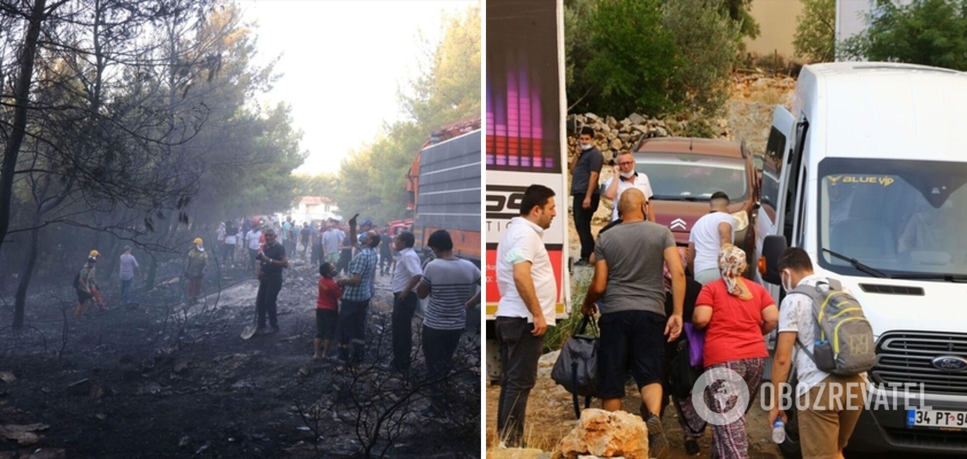 Эвакуация населения из пострадавших провинций