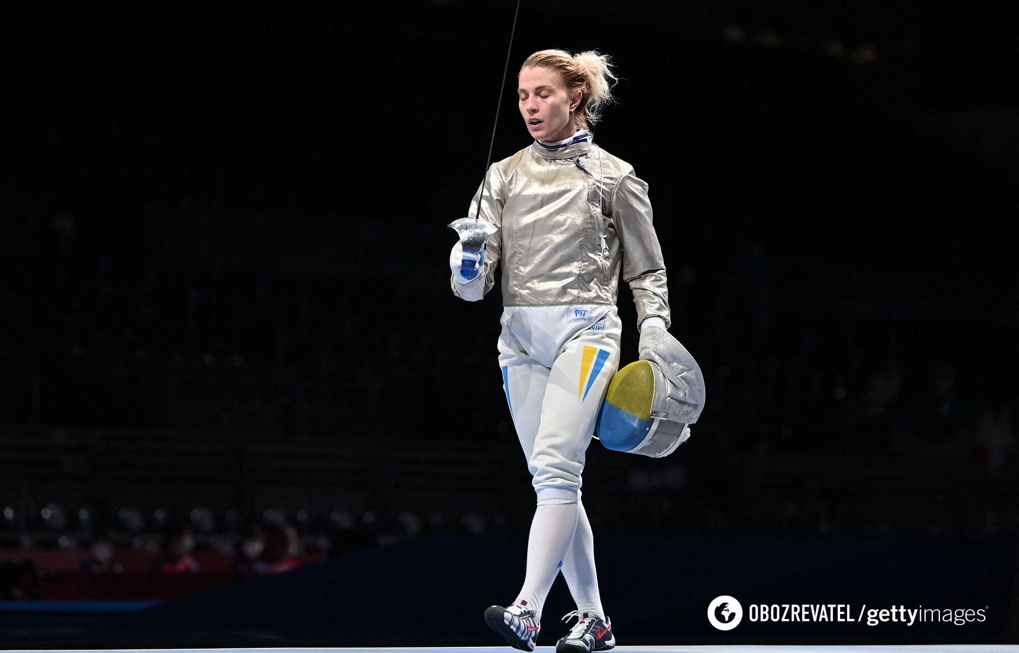 Ольга Харлан вылетела уже в первом круге ОИ.