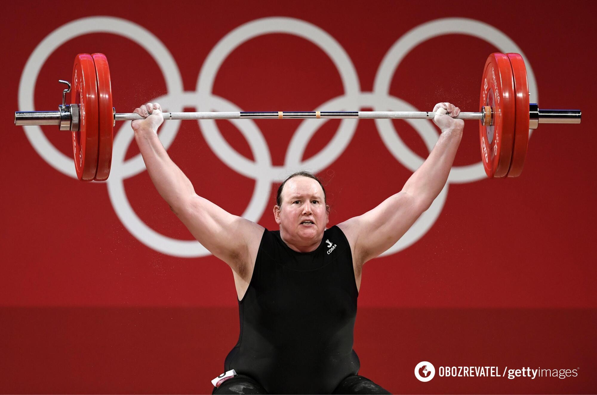 Хаббард не змогла взяти медаль