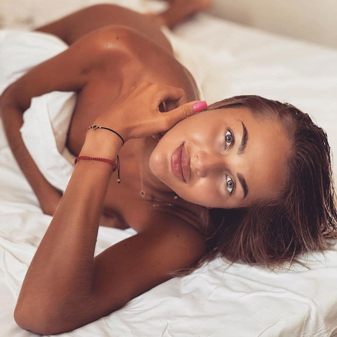 Людмила Осачук у ліжку