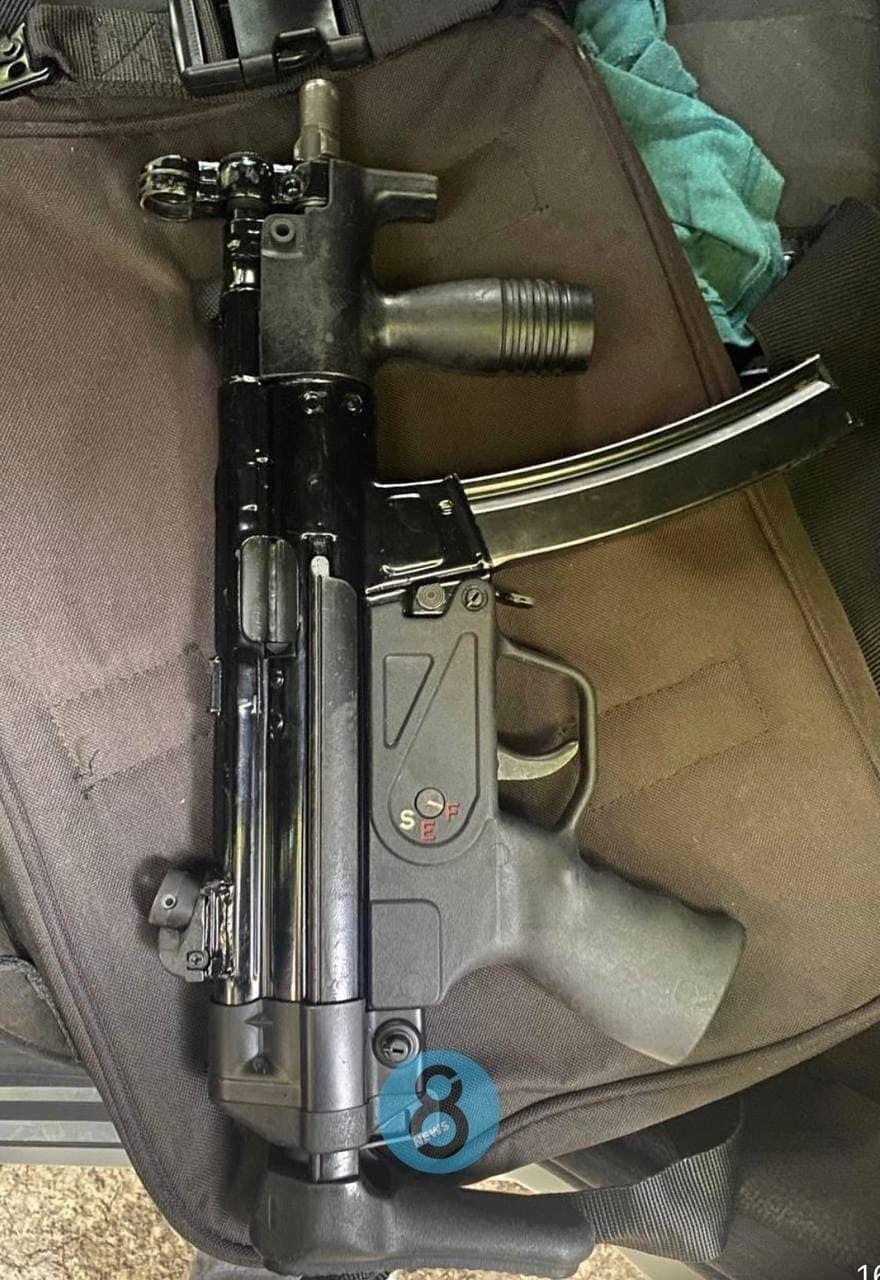 Оружие киллера, который расстрелял мужчину в Одессе