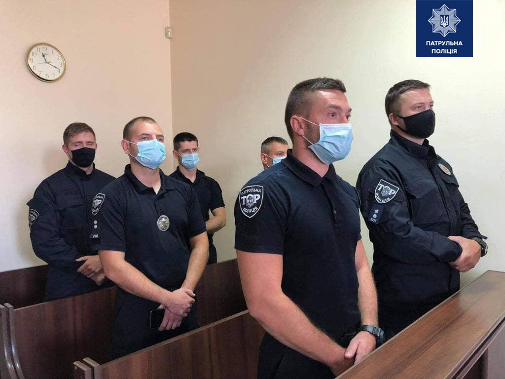 Засуджені поліцейські