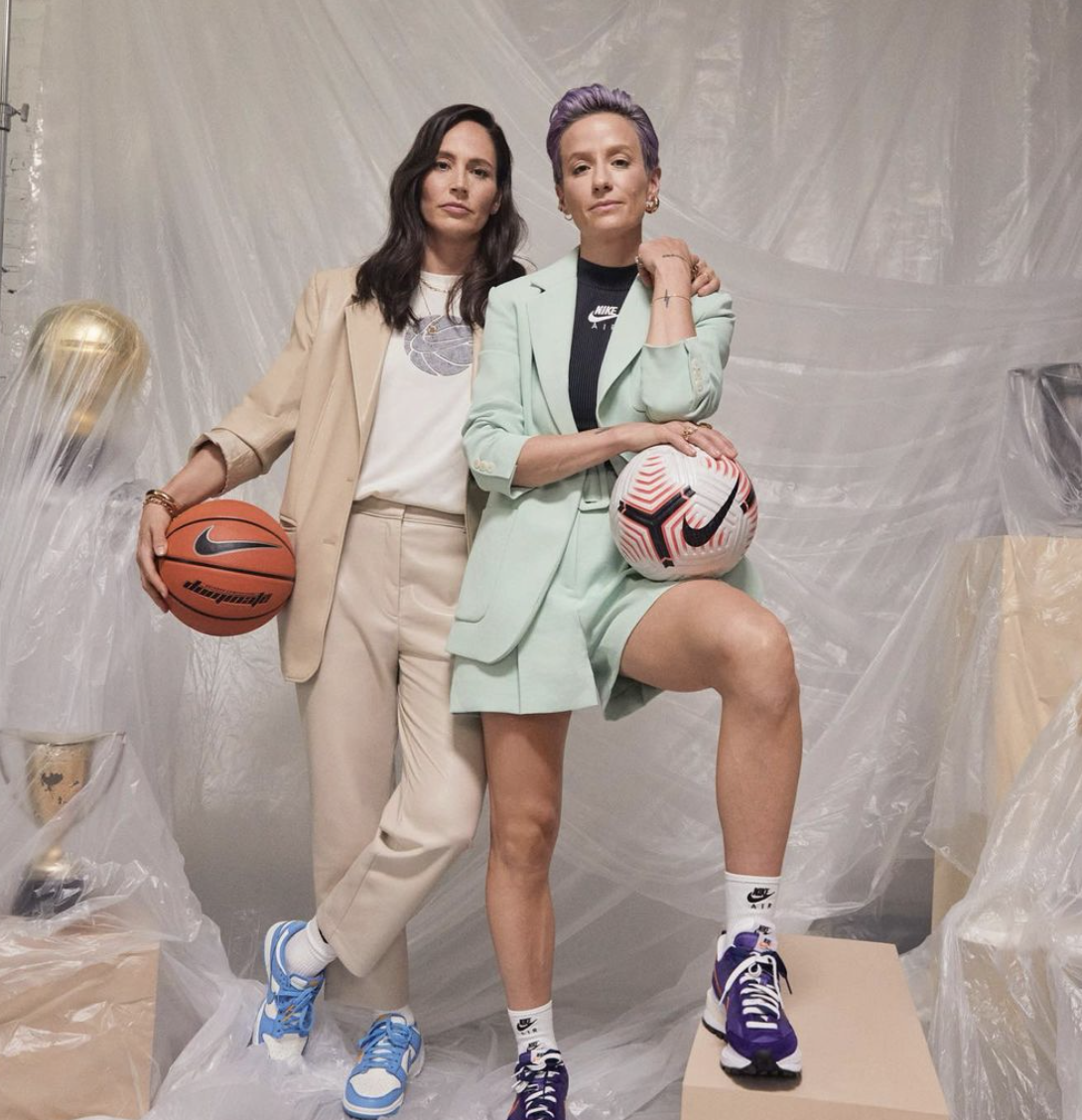 Американські спортсменки Сью Берд та Меган Рапіно разом перебували на Олімпіаді-2020