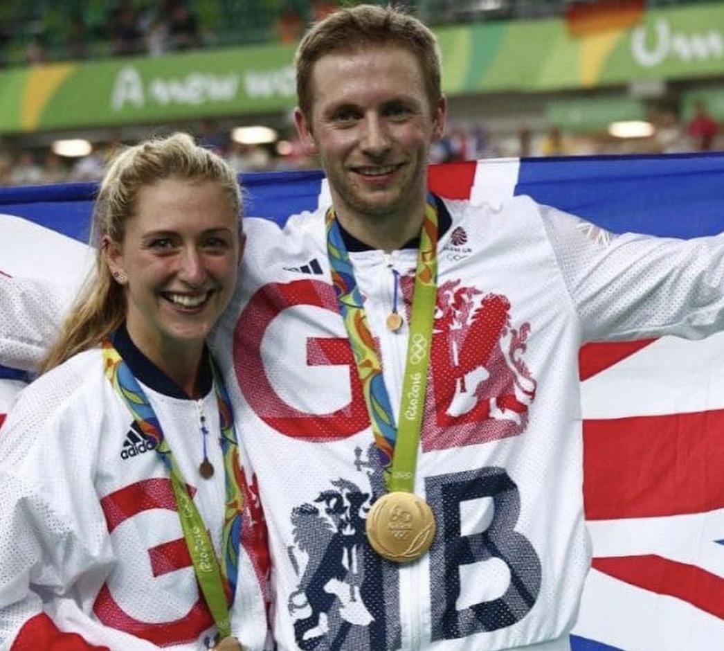 Велосипедисти Лора та Джейсон Кенні неодноразово разом брали участь в змаганнях