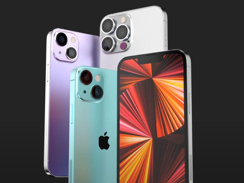 Визуально iPhone 13 получит вид iPhone12.