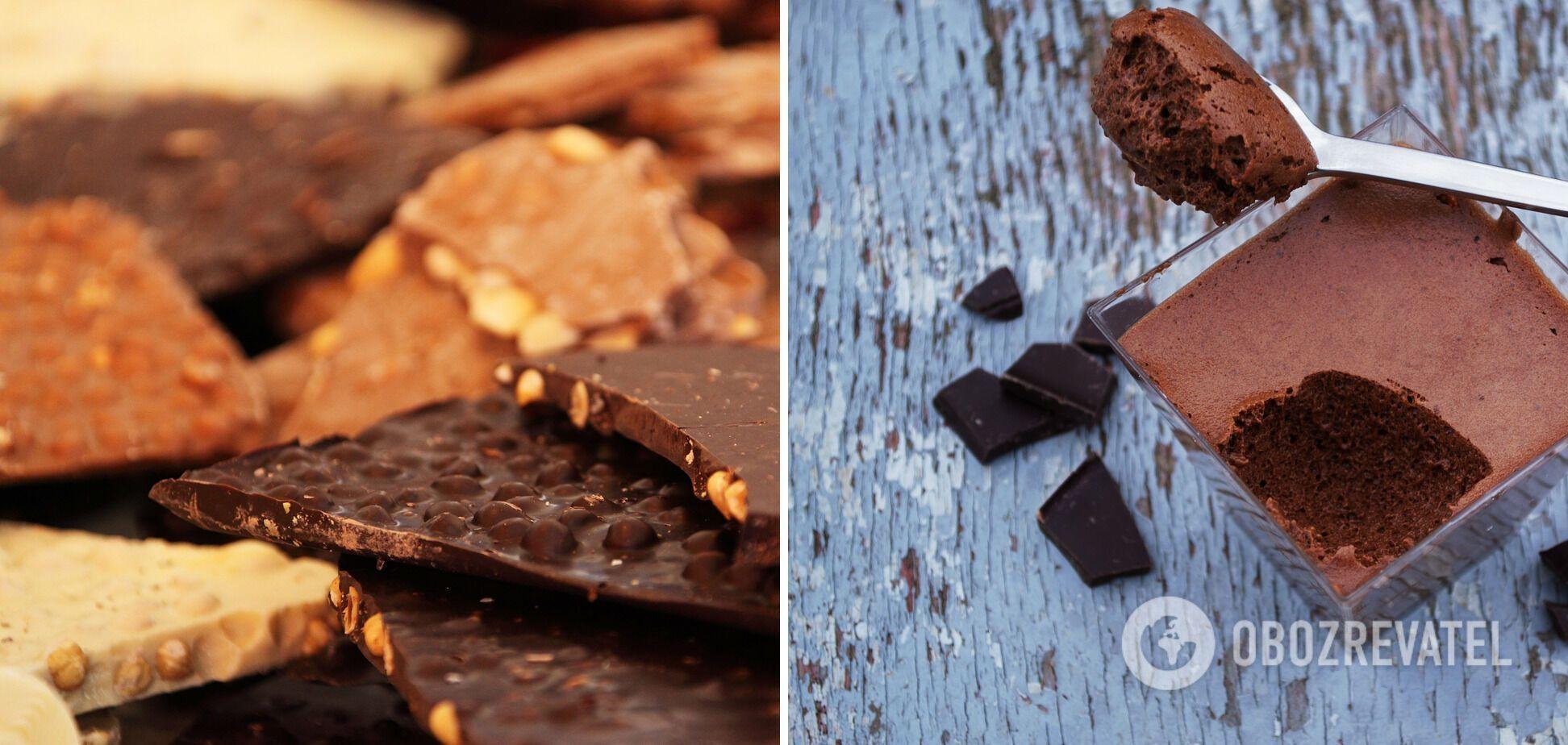 Шоколадний мус із віскі