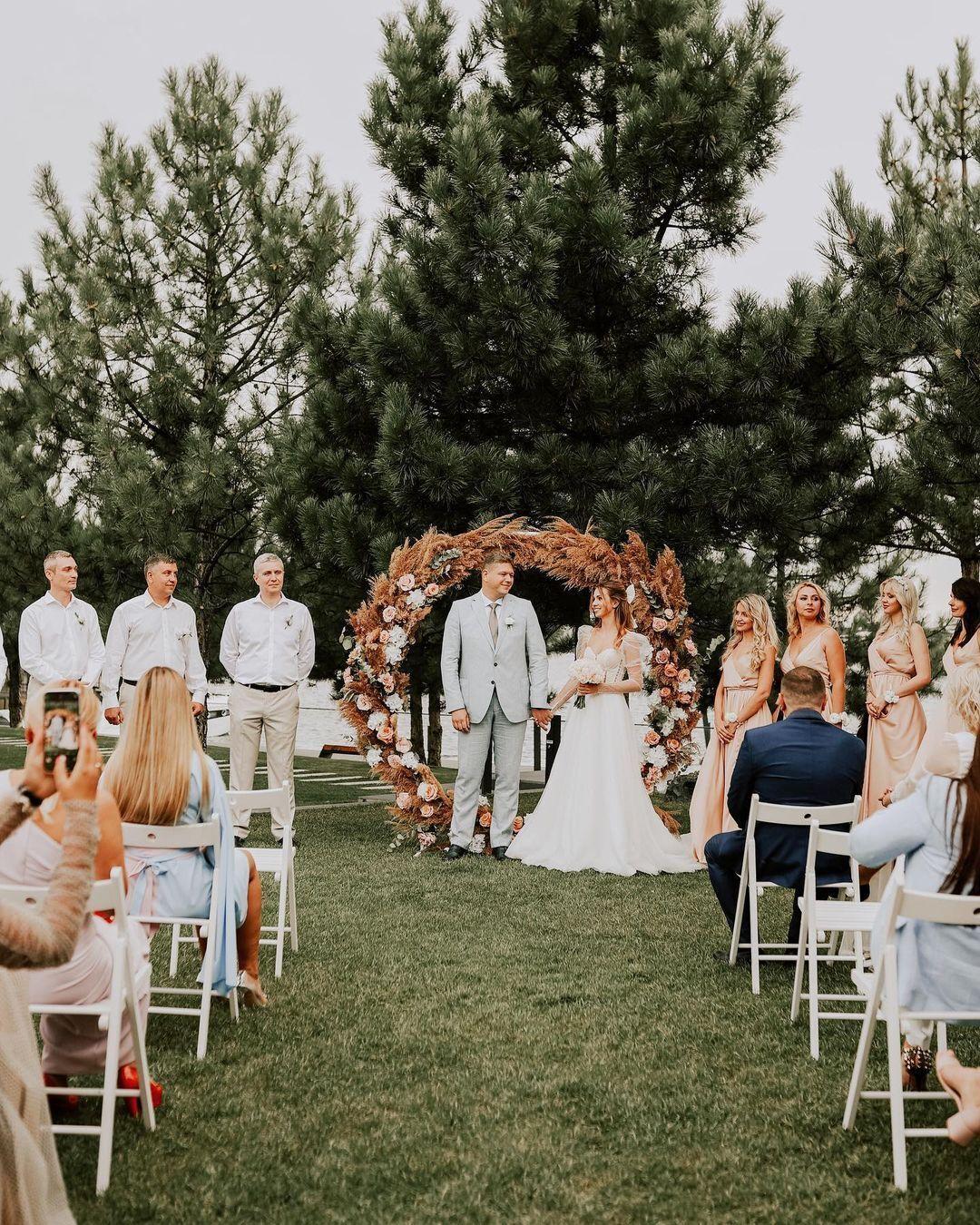 Зинченко и Соколюк показали кадры со свадьбы
