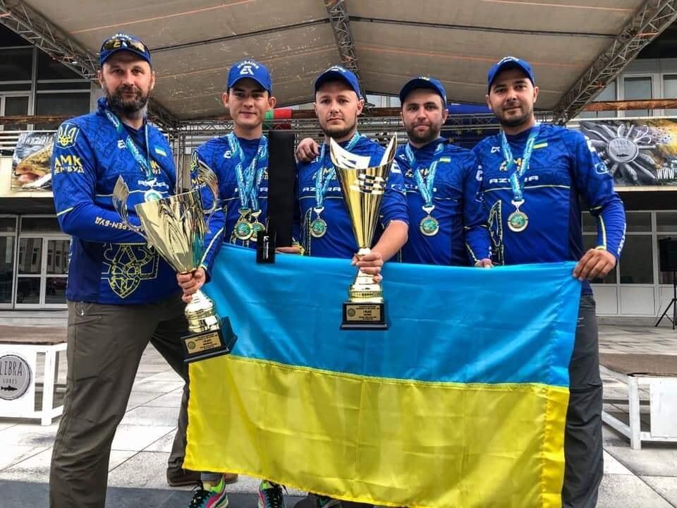 Рыбалка Сборная Украины чемпион мира