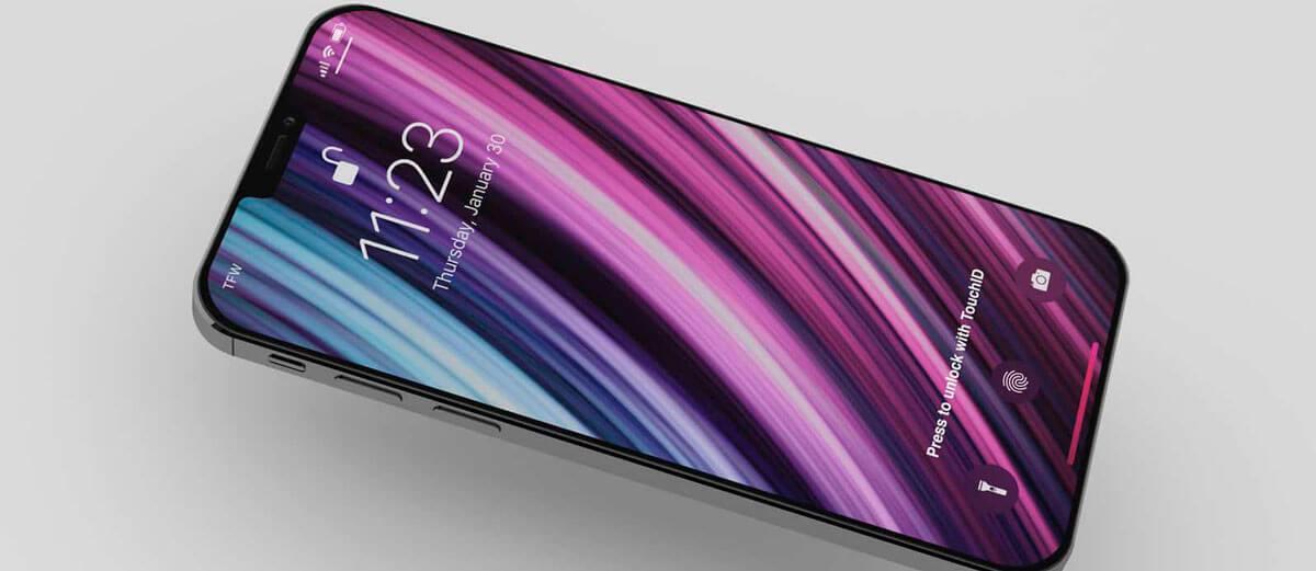 В iPhone могут вернуть отпечаток пальца.