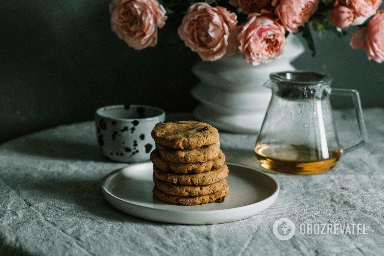 Готове вівсяне печиво