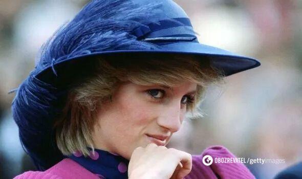 Принцесса Уэльская Диана.