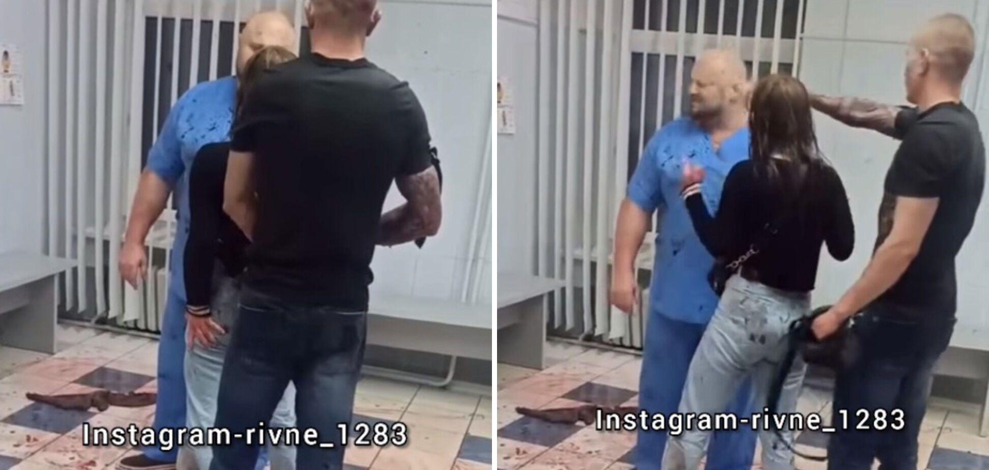 Чоловік розпилив сльозогінний газ в обличчя медику