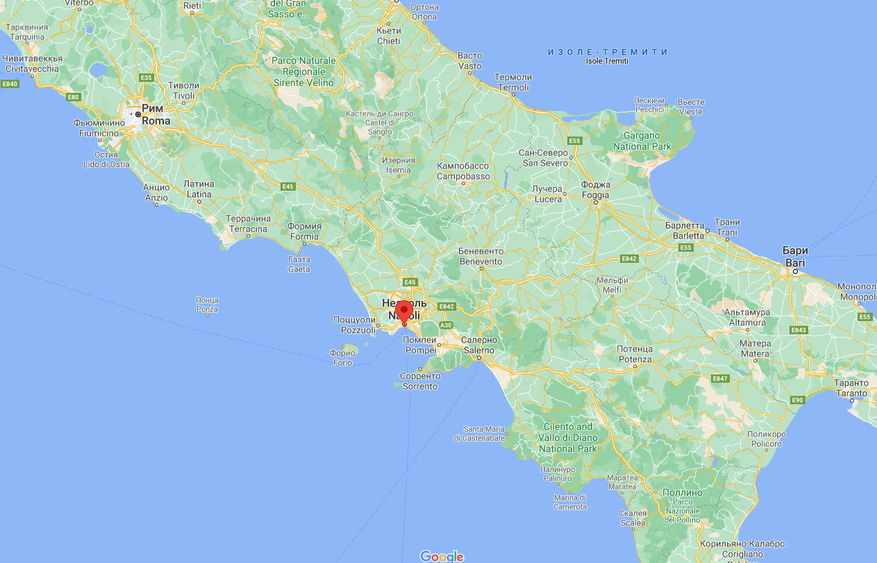 Трагедія сталася в Неаполі.