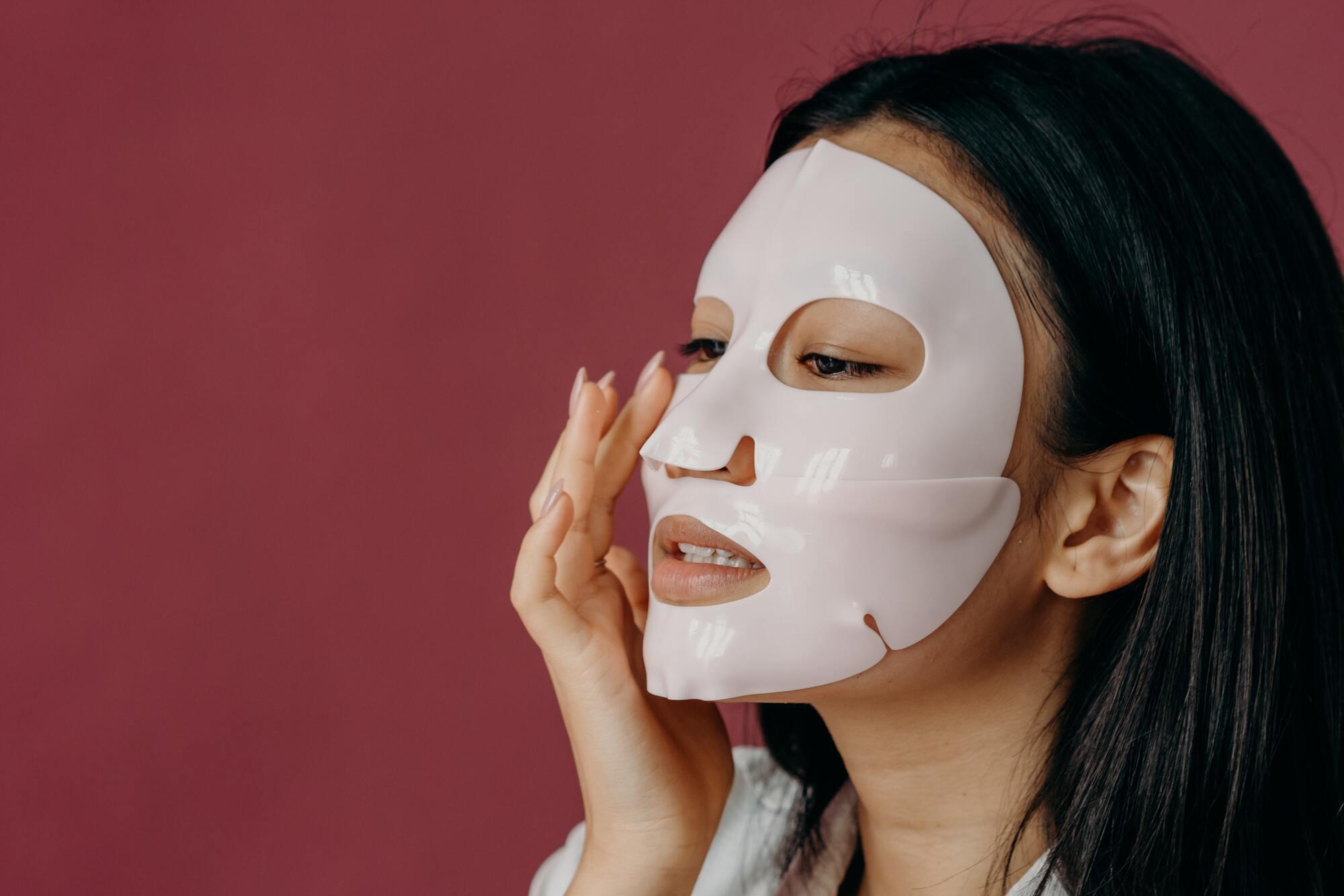 Кореянки не только пользуются покупными масками для лица, но и делают их самостоятельно