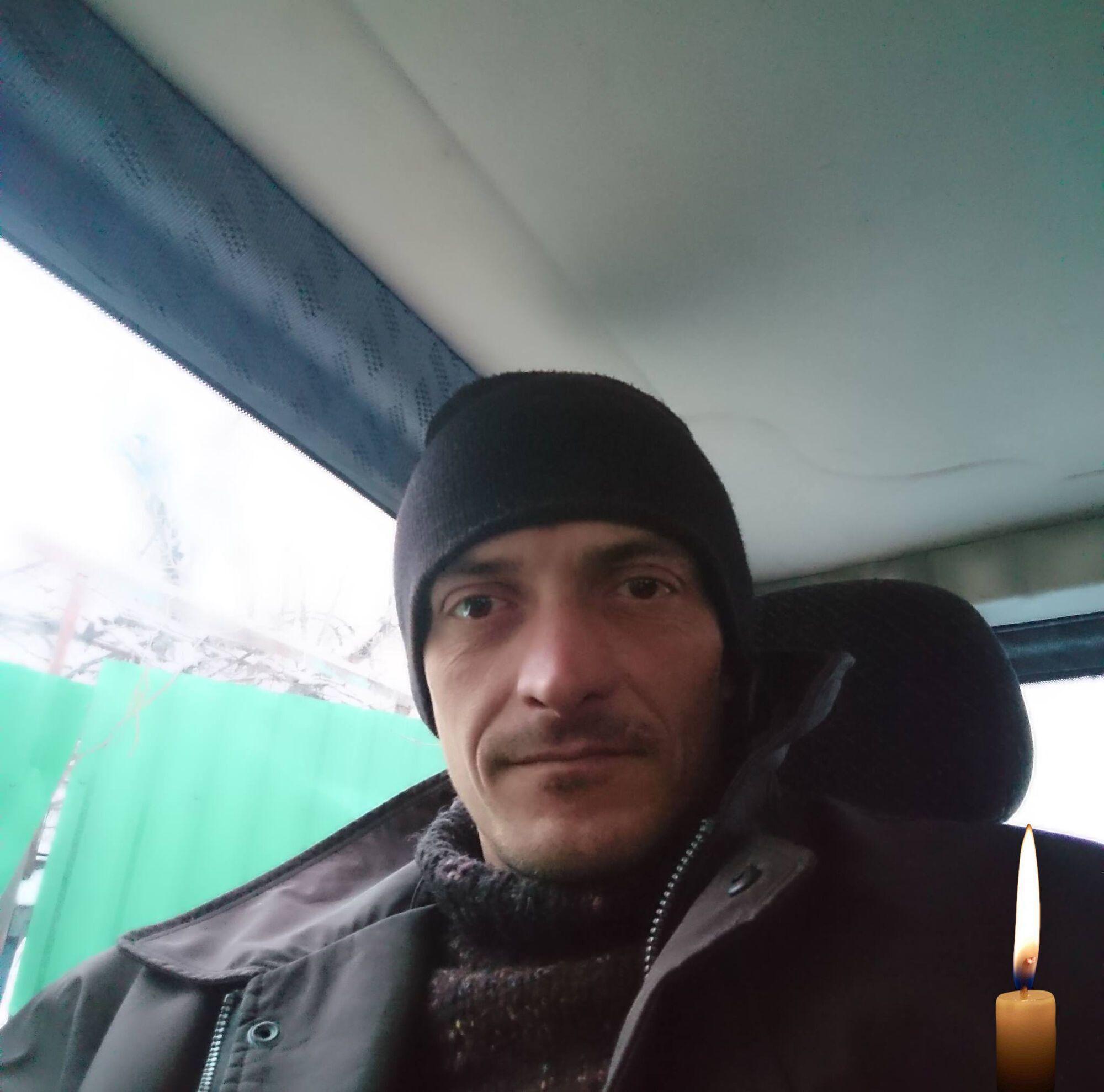 Владимир Яськив на войне с 2019 года.